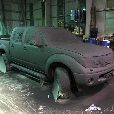 Polükarbamiidi / polyureaga auto katmine