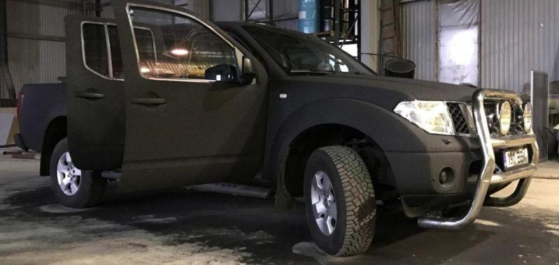 Sõidukite ja autokastide katmine polükarbamiidiga